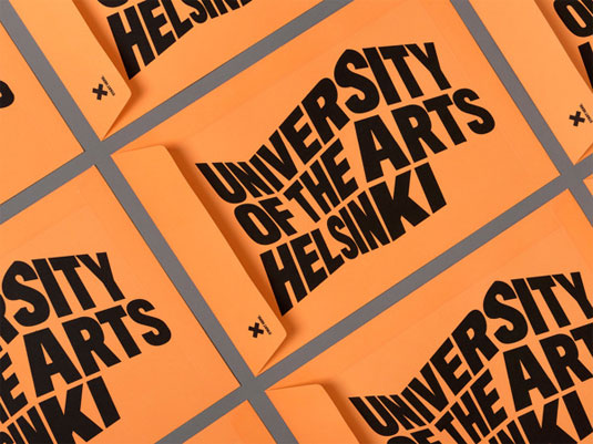 university of the arts helsinki branding