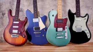 Four ultra cool electrics from Ibanez Fender Cort and Reverend