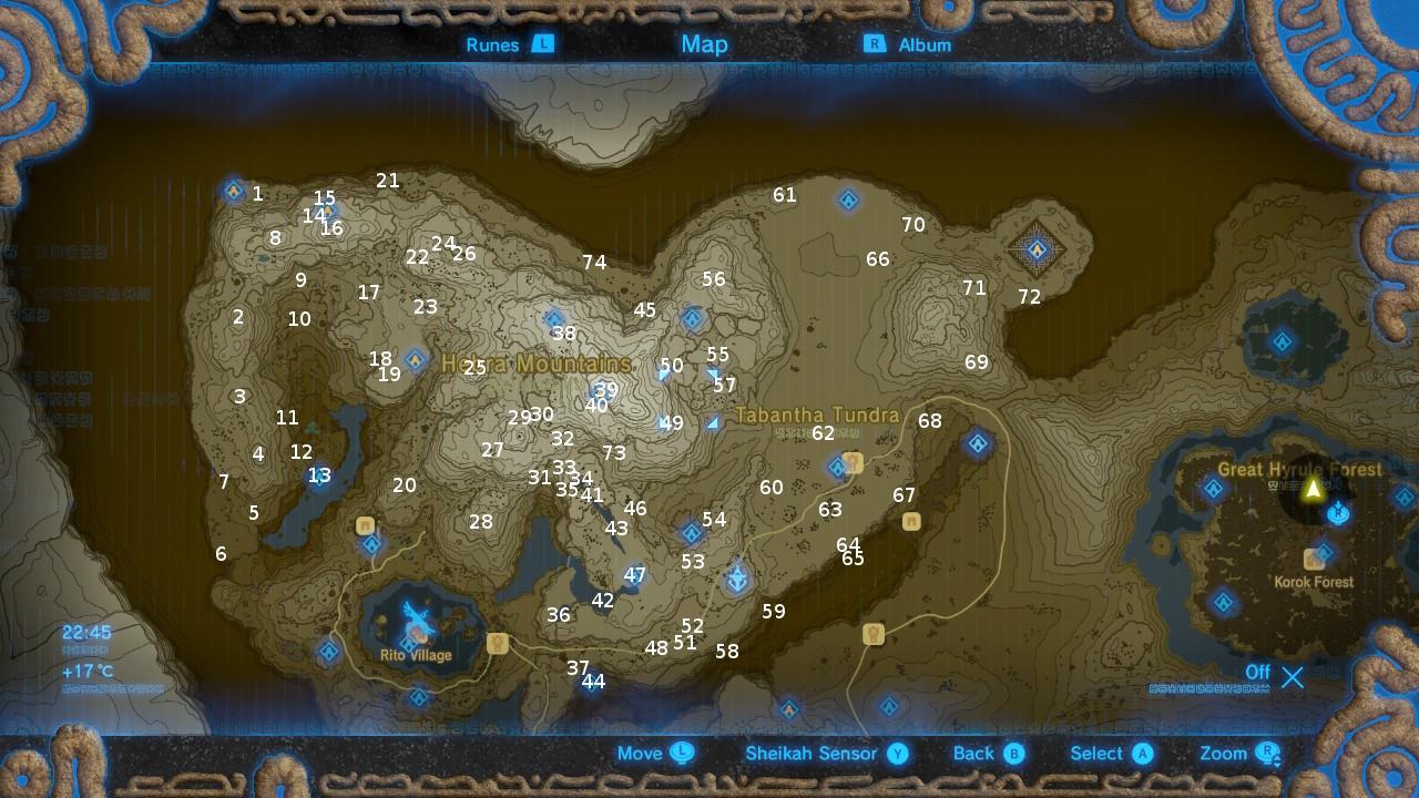 The Legend Of Zelda Breath Of The Wild Korok Seed