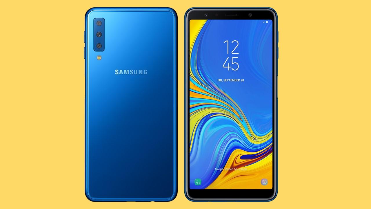 Samsung Galaxy A7 (2018) gets a triple camera setup