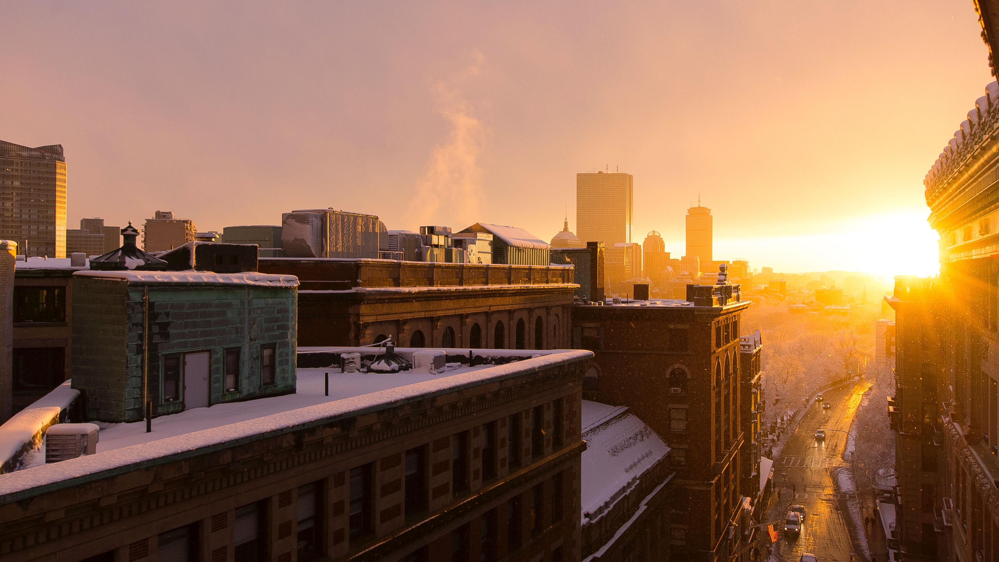 New York sunrise by Gabriel Argudo Jr