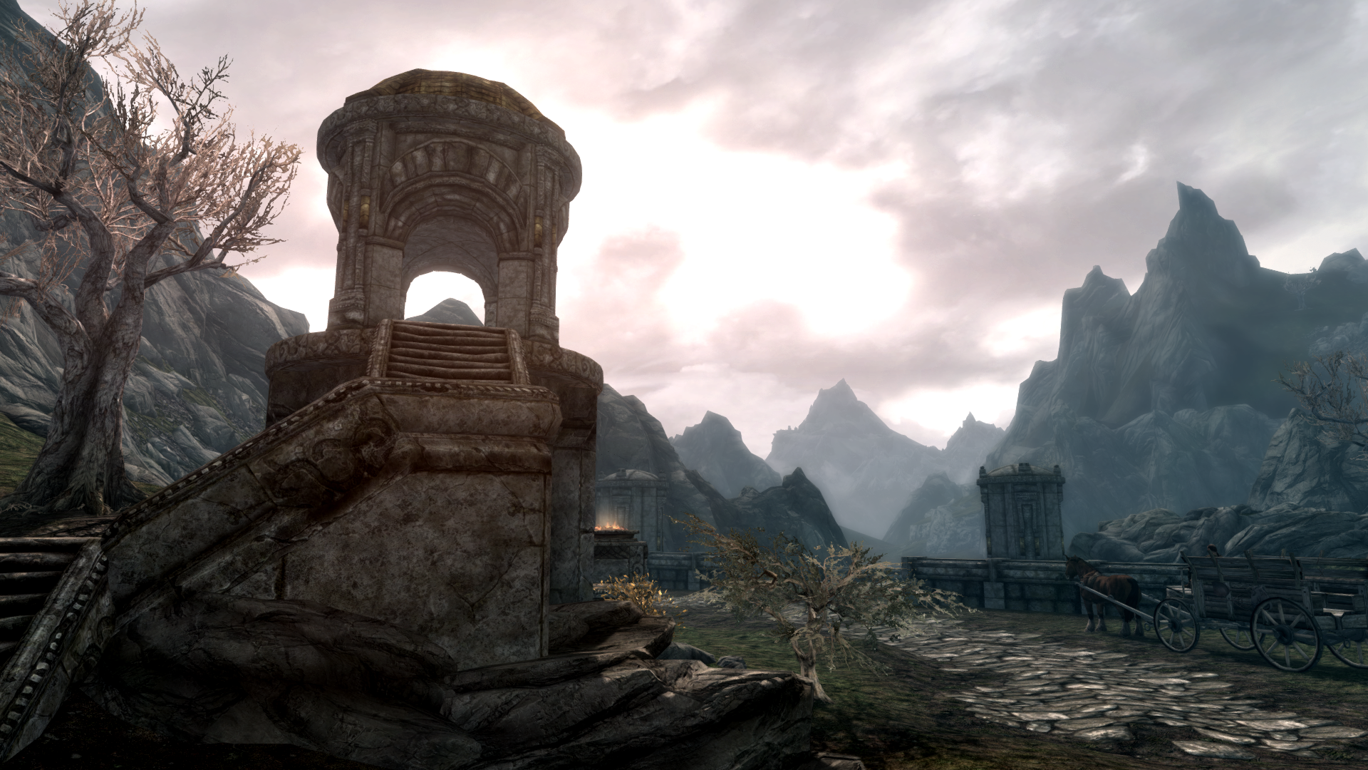 Skyrim Special Edition settings, comparison shots, and