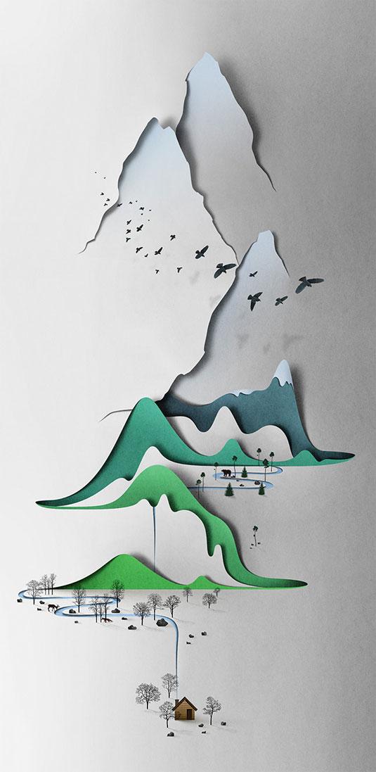 paper landscapes