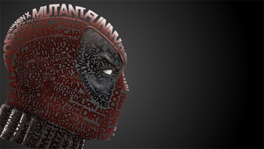superhero typography
