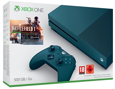 blue xbox one s deals
