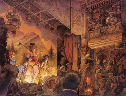 How Moebius revolutionised comic art