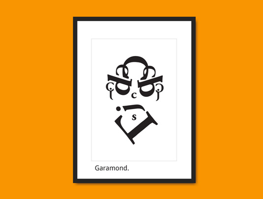 Garamound portrait
