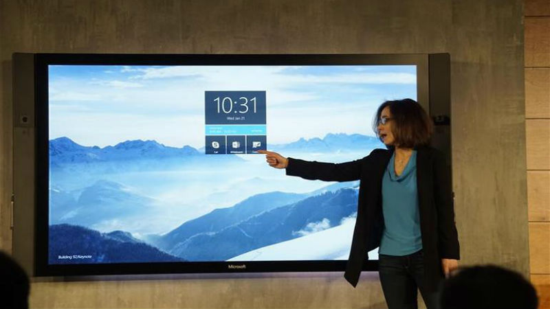 Surface hub, microsoft