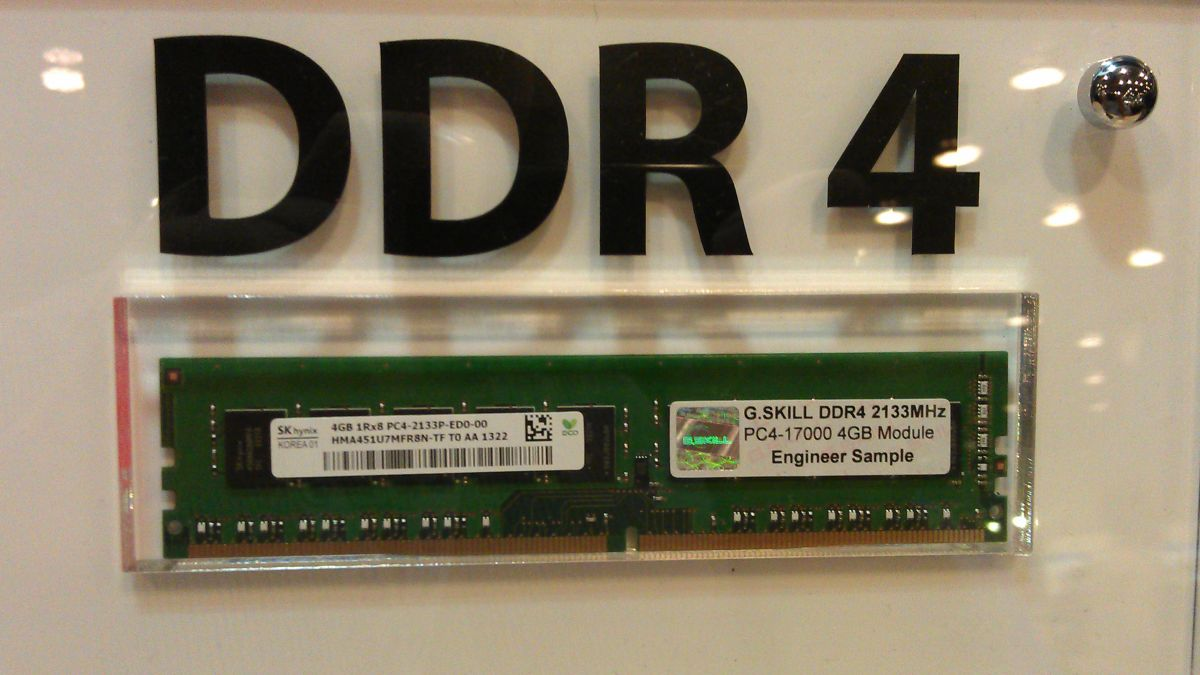 Ddr4 Is Real But Don T Hold Your Breath Waiting For It Techradar