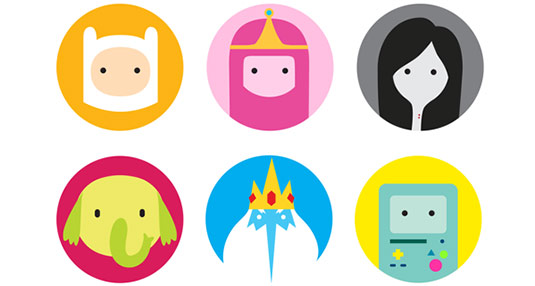 Adventure Time icons