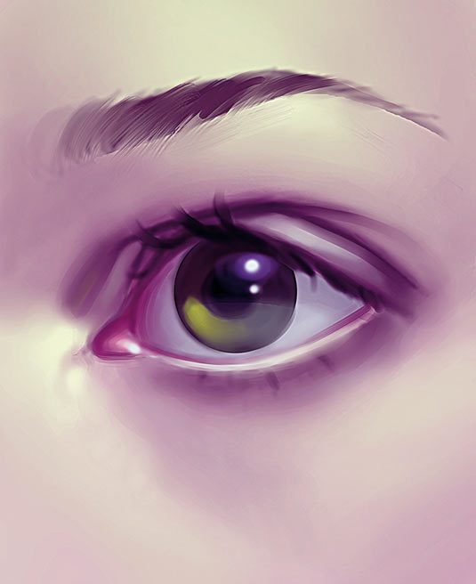 3 top tips for creating convincing eyes creative bloq - Creative digital art ideas for your home ...