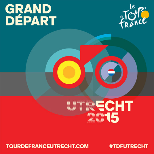 2015 Grand Depart Tour de France logo