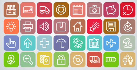 Free icons vectory mini free