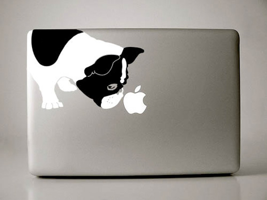 Mac decals - bulldog