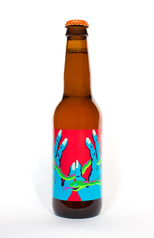 Karl Grandin beer labels