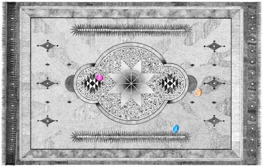ballpoint carpet illustrations