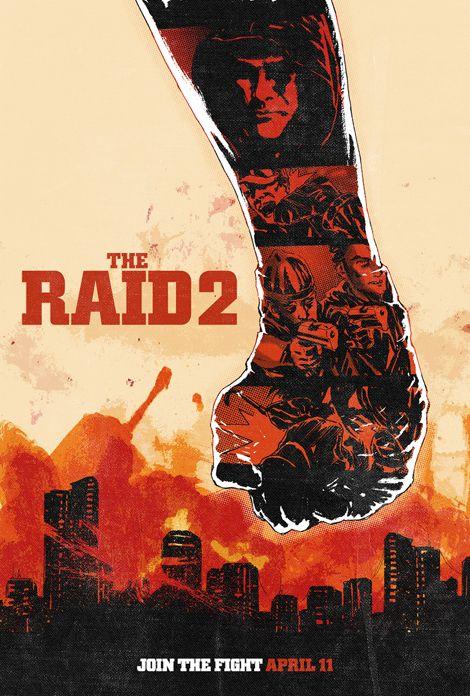 Risultati immagini per the raid 2 poster