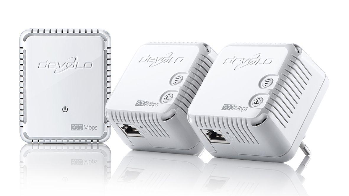 devolo dlan 500 wifi network kit review techradar. Black Bedroom Furniture Sets. Home Design Ideas