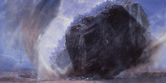 How meditation inspired the space art of John Harris
