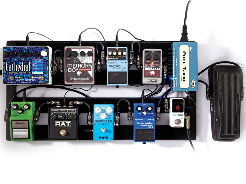 how to build a guitar pedalboard musicradar. Black Bedroom Furniture Sets. Home Design Ideas
