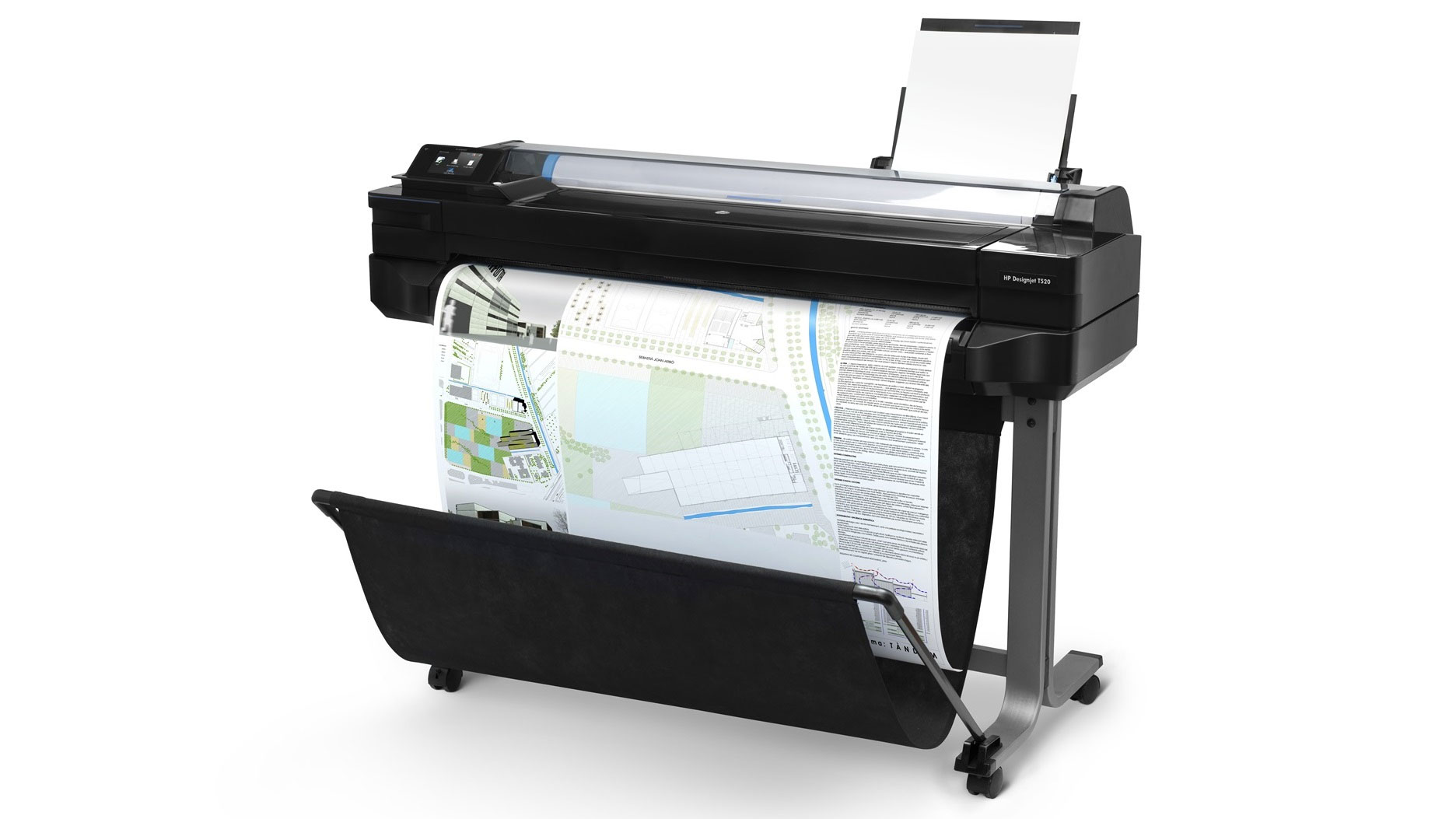 Three high-end printers for serious work - HP Designjet T520