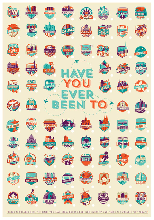 Travel posters - have you been?