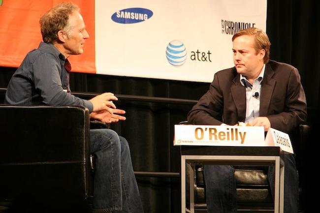 Tim O'Reilly talks at SXSW