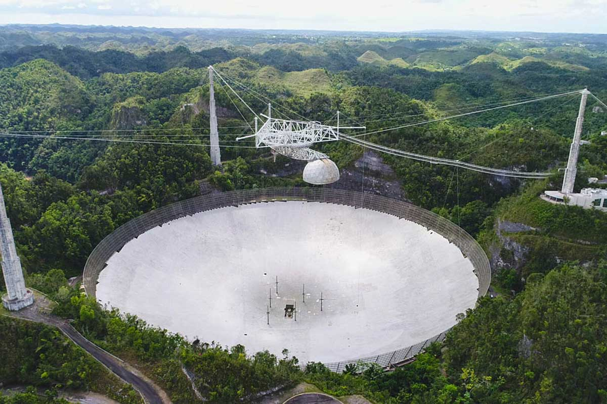Arecibo Observatory suffers more damage as second cable fails