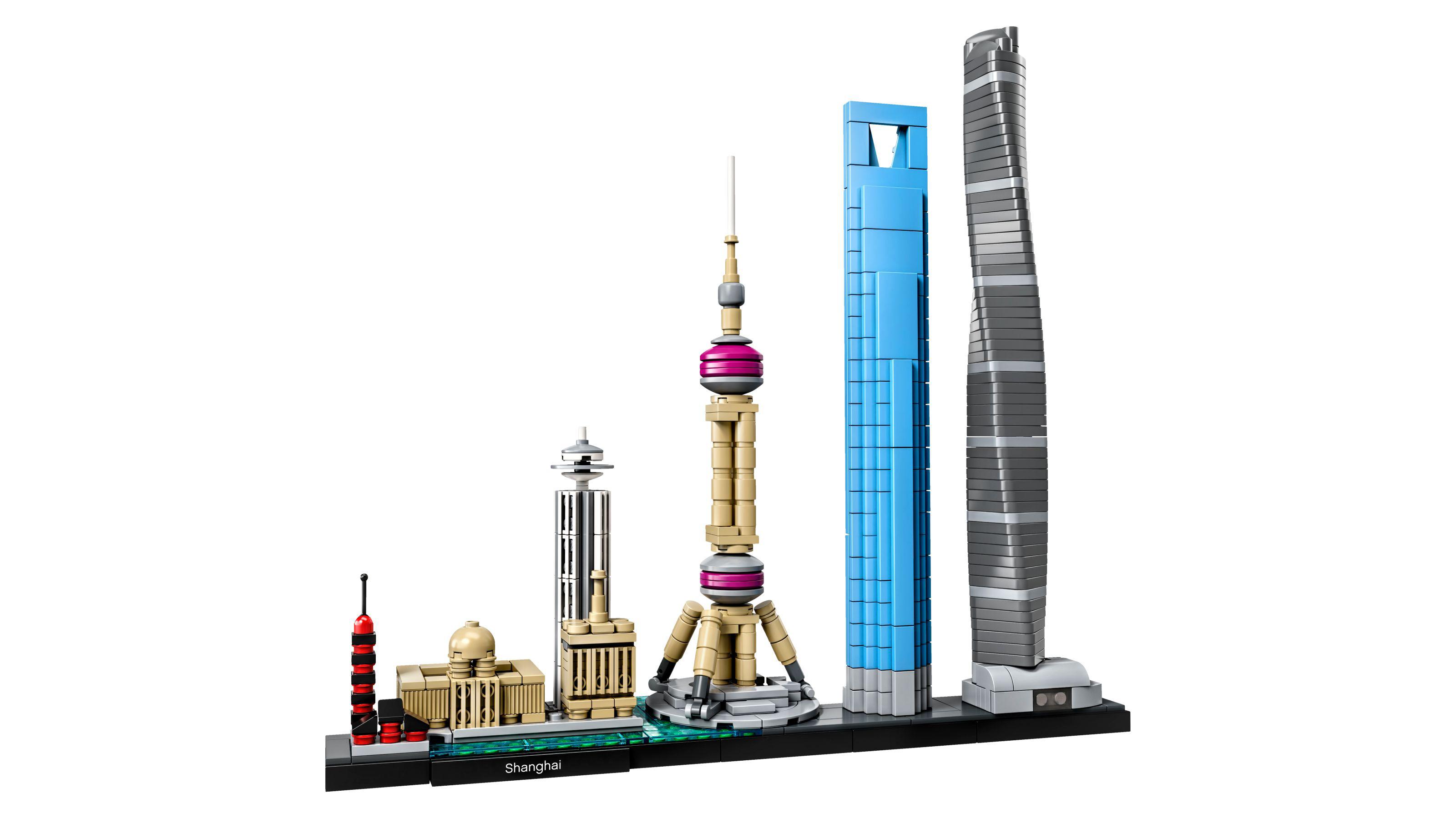 Best Lego Architecture sets: Shanghai