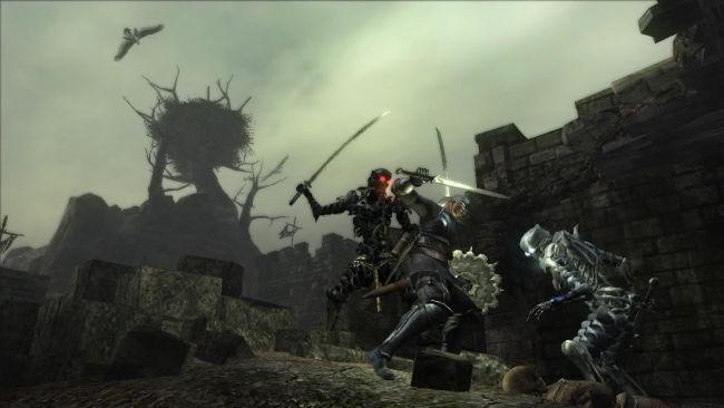 Here's Demon's Souls running in the RPCS3 PS3 emulator