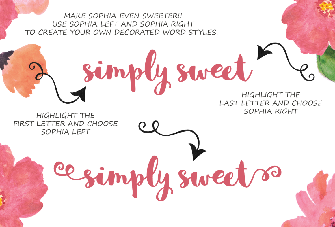 Best free fonts: Sophie