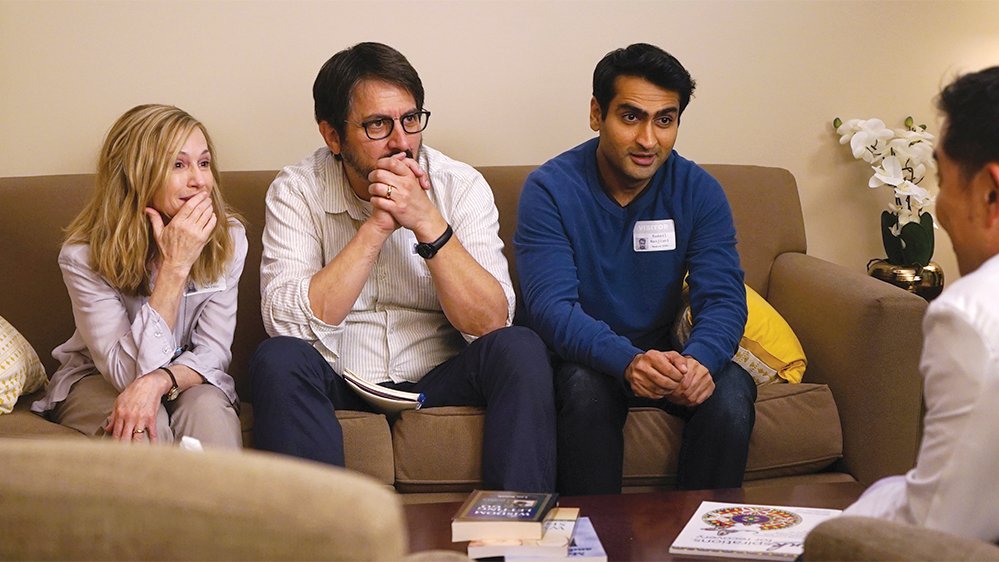 A still from the movie The Big Sick