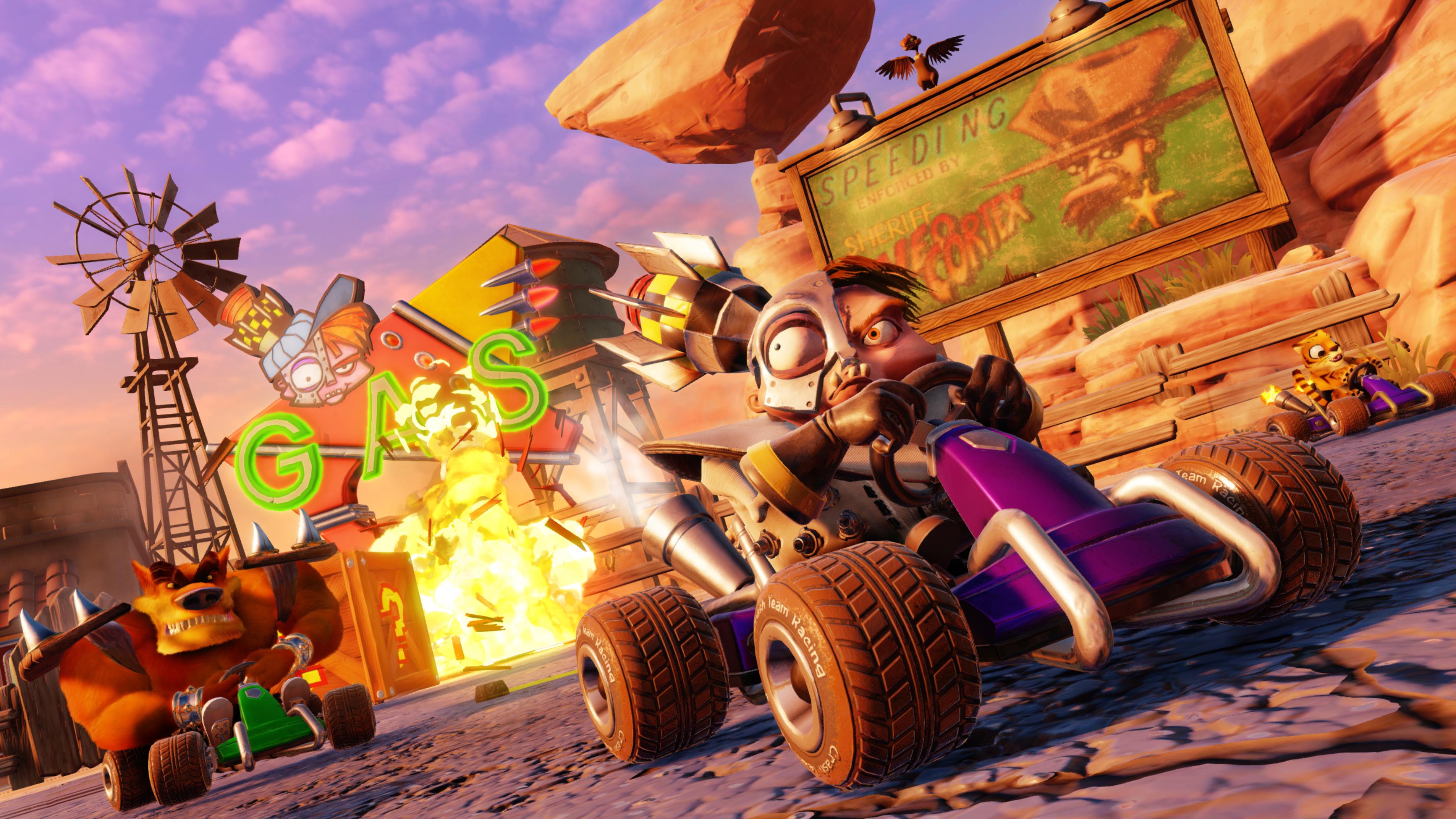 Crash Team Racing: Nitro-Fueled is a ridiculously fun ride down memory lane
