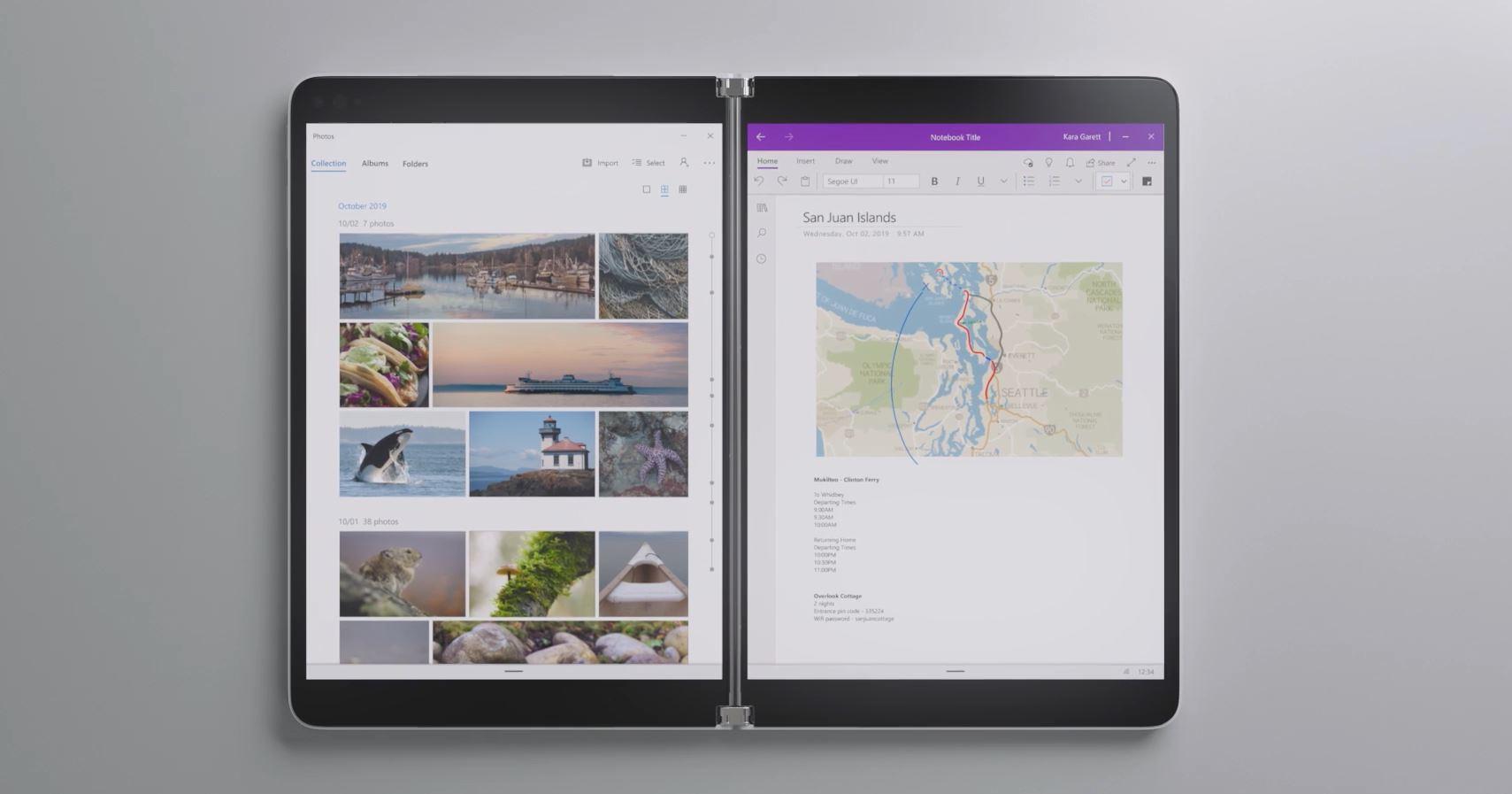 Microsoft ne lancera pas la Surface Neo sous Windows 10X cette année