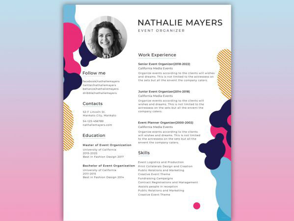 How to create the perfect design resumé