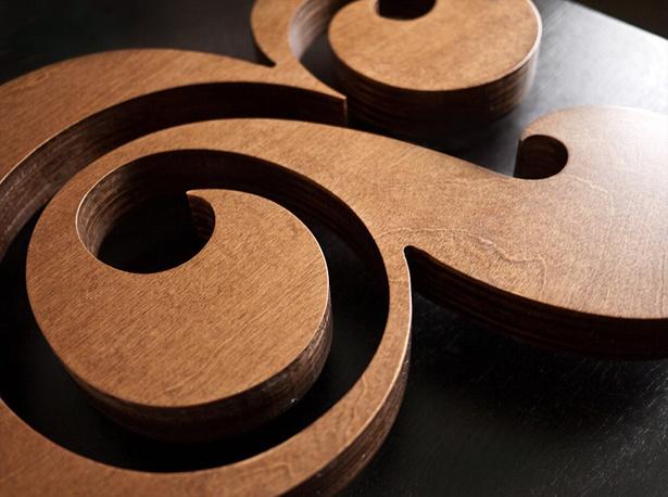 Ugmonk - Premium Wood Ampersand