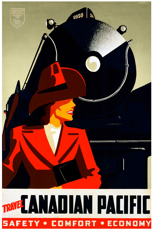 Vntage posters - Canadian Pacific Railway