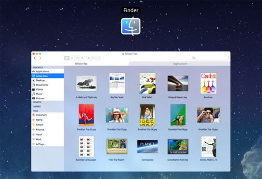OS X redesign