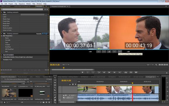 Adobe Premiere Pro CS6: Trim-Mode