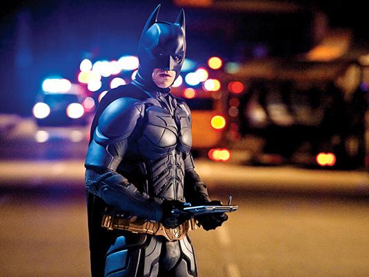 Dark Knight Rises: the latest Bat-suit