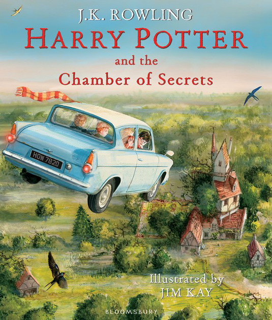 New Harry Potter Illustrations Are A Visual Treat