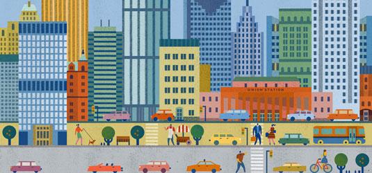 Lotta Nieminen, Travel Happy illustration