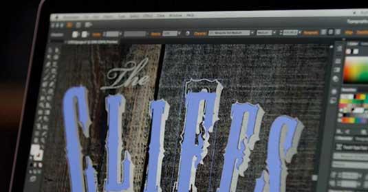 Illustrator CC: Touch-type tool