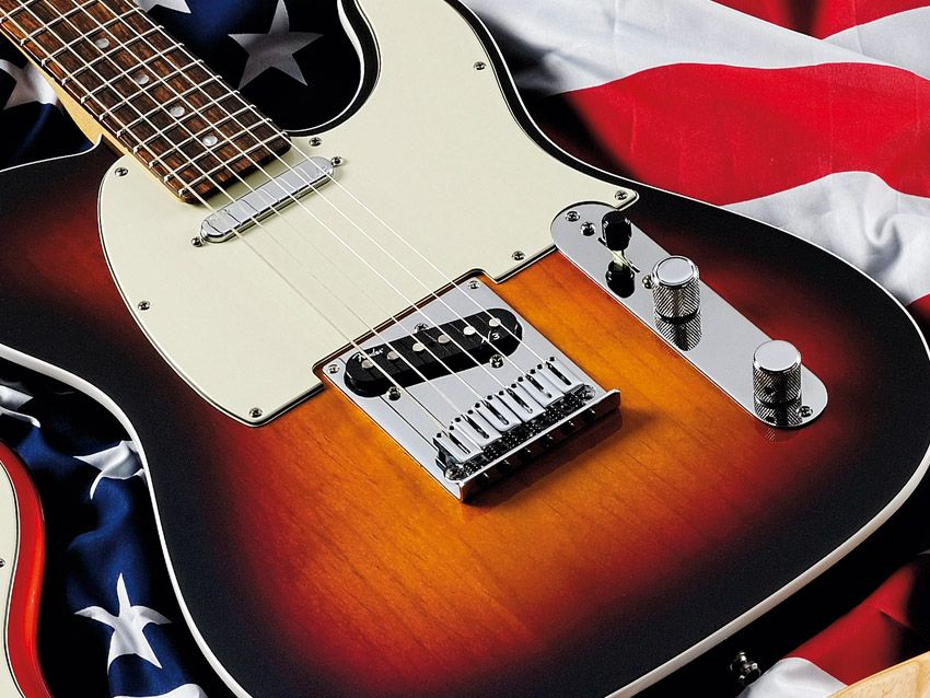 fender american deluxe telecaster review musicradar. Black Bedroom Furniture Sets. Home Design Ideas