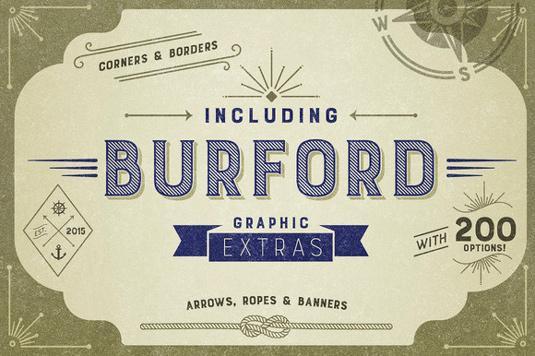 Burford font