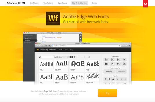 Download fonts: Adobe Edge