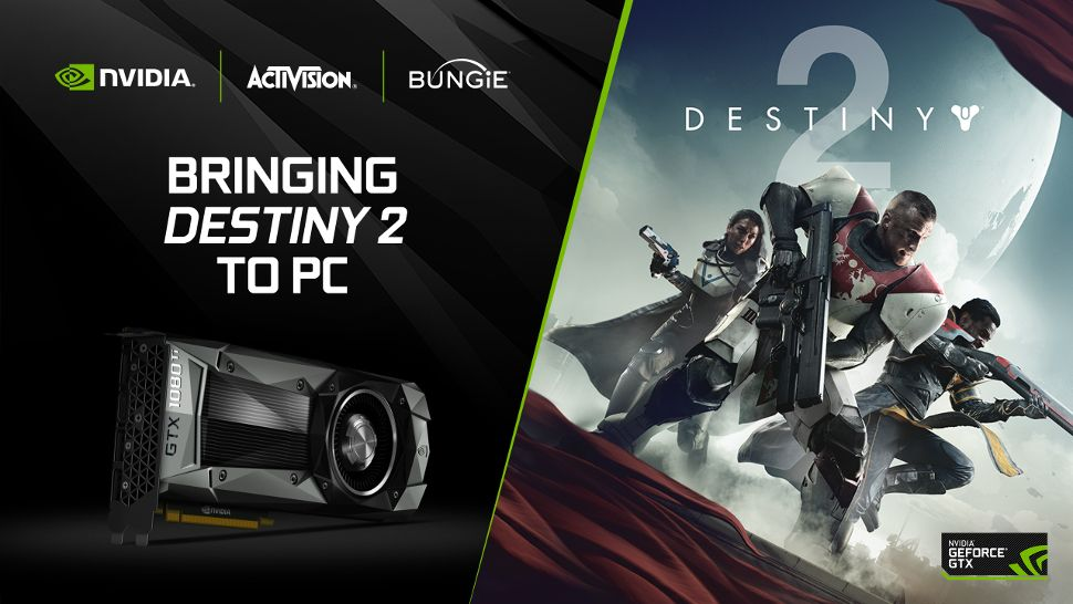 Get Destiny 2 free with Nvidia's latest graphics cards