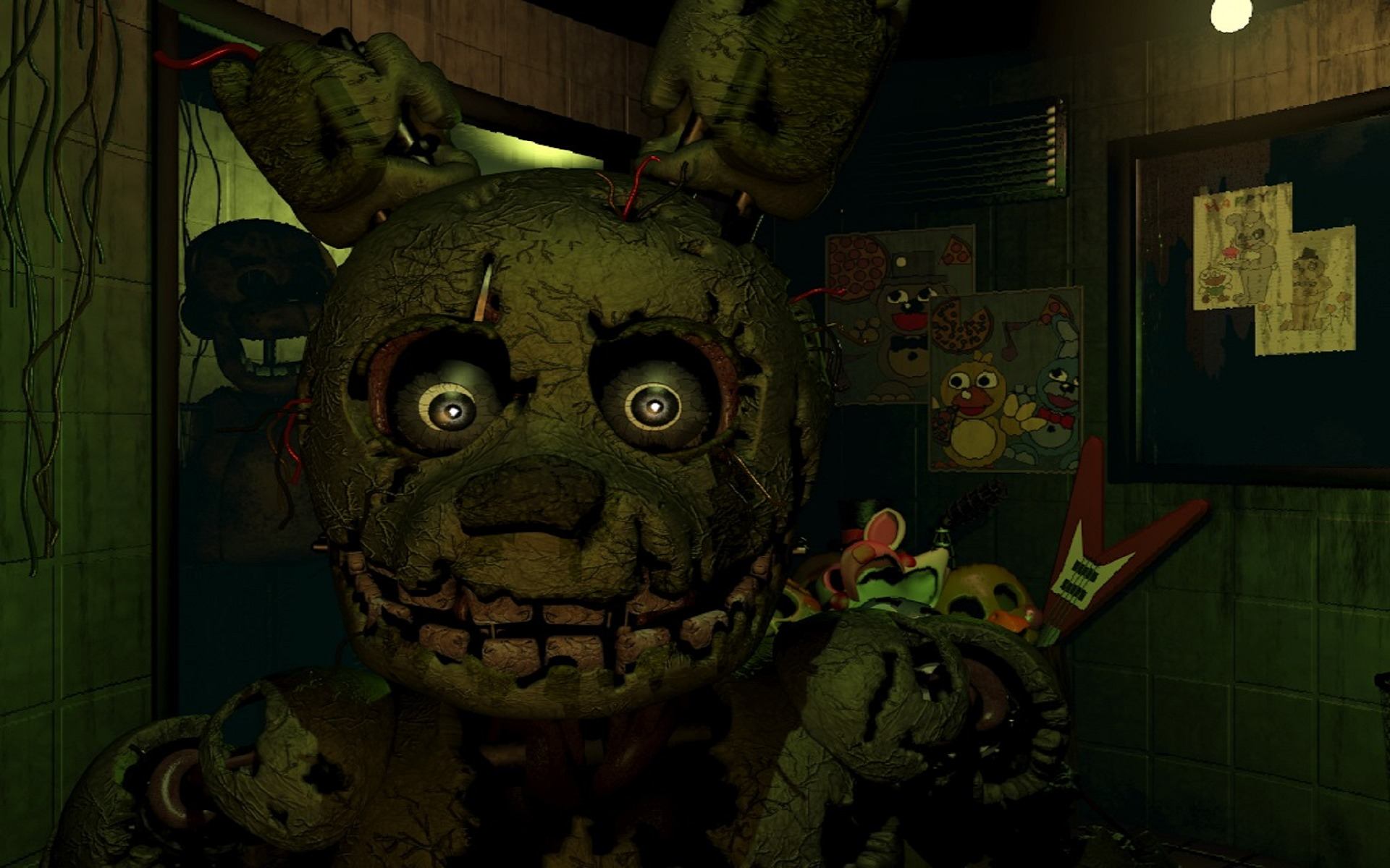 five nights at freddys 3 review pc gamer