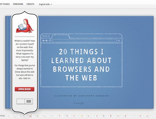 Sliders in web design: Storytelling