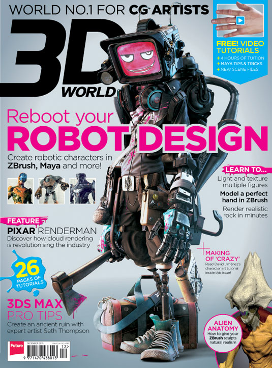 3D World issue 175